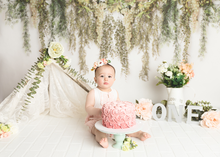 Connecticut Cake Smash First Birthday Photographer - Smash Cake Litchfield County CT, Fairfield County CT, Westchester County NY