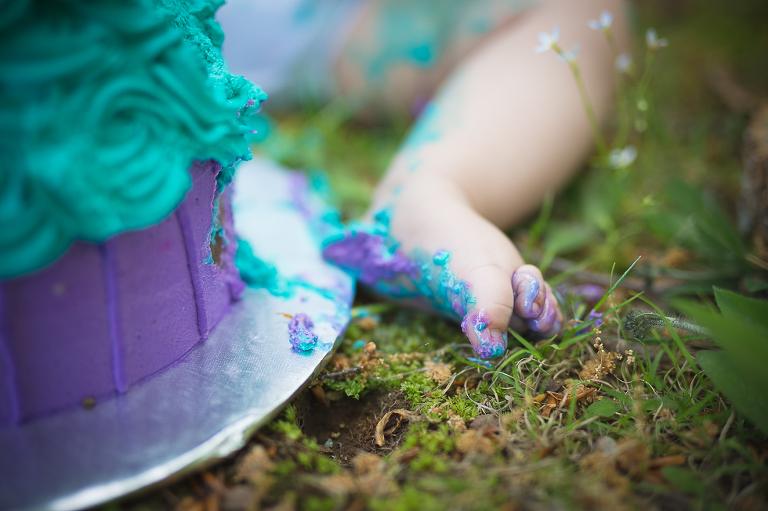 CT Cake Smash Photographer - Natalie Buck Photography