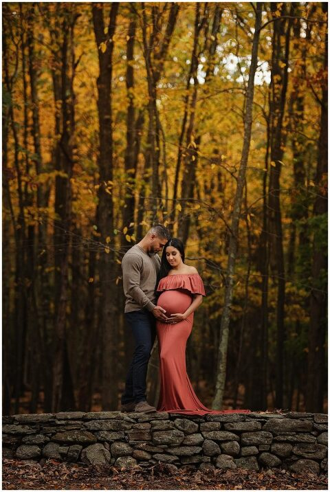 Fall colors of New England - Connecticut Maternity & Pregnancy Photographer - Litchfield county CT, Fairfield County CY and Westchester County NY